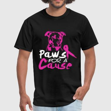 Cause PAWS FOR A CAUSE shirt - Men's T-Shirt