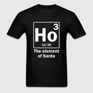 the_element_of_santa - Men's T-Shirt