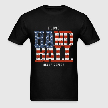 I Love Handball USA - Men's T-Shirt