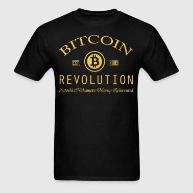 Bitcoin Revolution - Men's T-Shirt