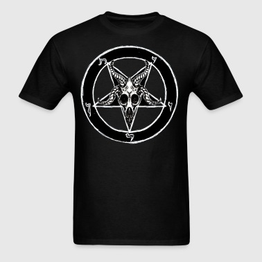 Baphomet Pentagram - Men's T-Shirt