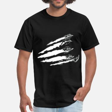 Torn Rip Claws - Men's T-Shirt
