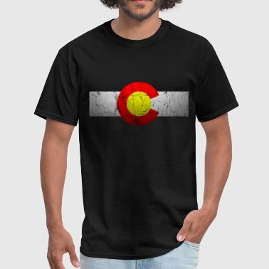 Colorado Flag Vintage Vintage Colorado Flag - Men's T-Shirt