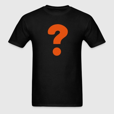 Question Mark / ? - Men's T-Shirt