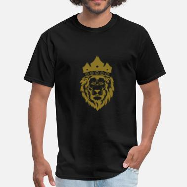 Gold Metallic TS Lion Metallic Gold - Men's T-Shirt