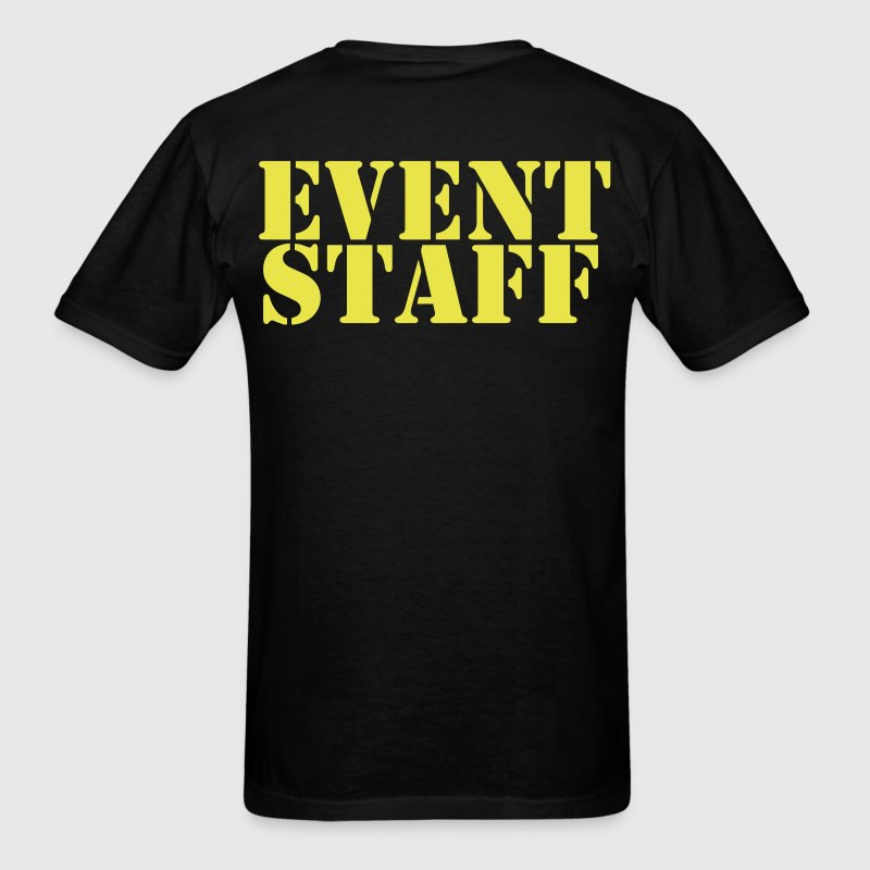 event staff - Men's T-Shirt