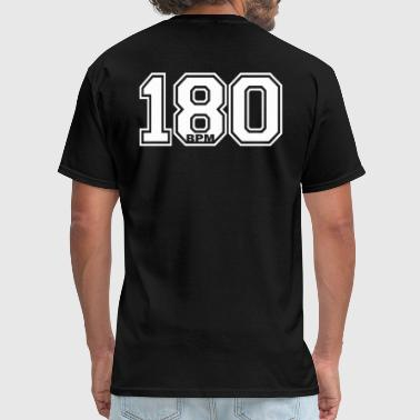 Hardcore 180 BPM - Men's T-Shirt
