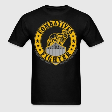 Combatives Fighter Gold - Men's T-Shirt