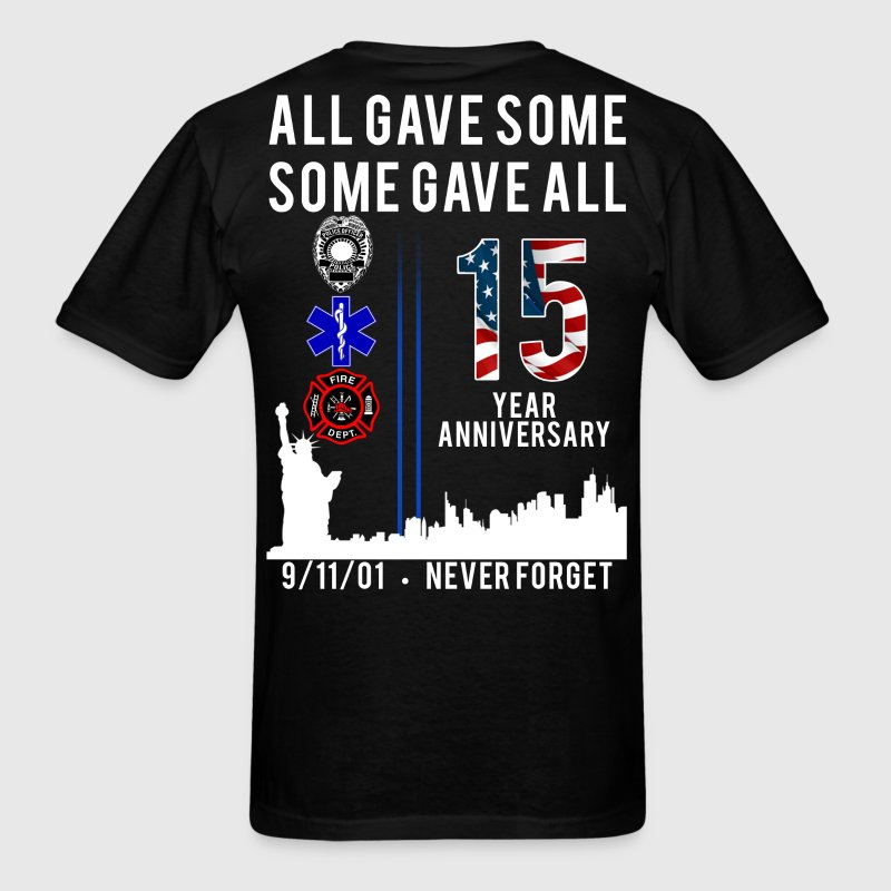 Never Forget 9/11 - Men's T-Shirt