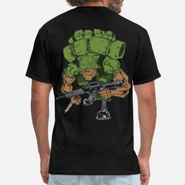 Bears War Badass War Soldier - Men's T-Shirt