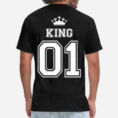 King And Queen king - Men's T-Shirt