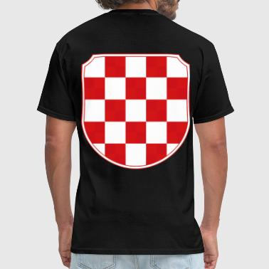 Croatia Hrvatska Coat of arms Sahovnica - Men's T-Shirt