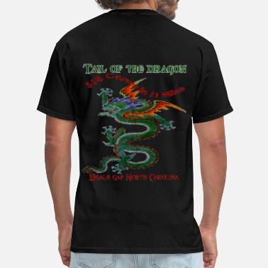 Gap Tail Of The Dragon 4 Design - Men's T-Shirt