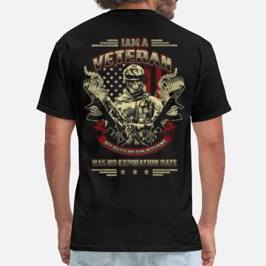 Enlisted Military Veteran - Oath of enlistment has no expiration day - Men's T-Shirt