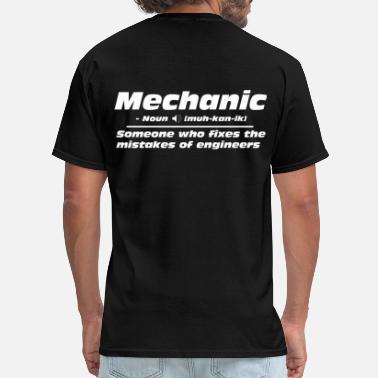 Shop Funny Mechanic T Shirts Online