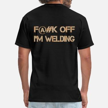 Fuck Orange Fuck Off Tan-Orange T-Shirts - Men's T-Shirt