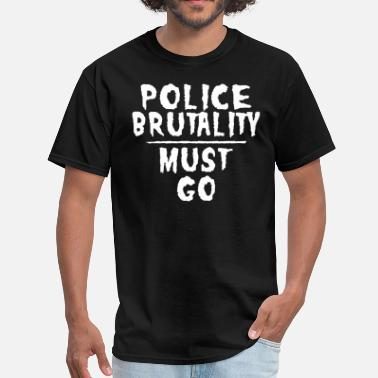 The Urban Geekz Police Brutality - Men's T-Shirt