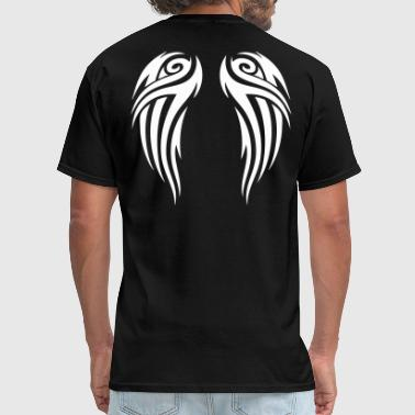 Wings tribal wings - Men's T-Shirt