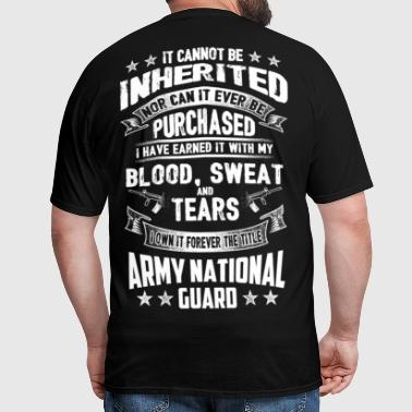 USA army national guard - Men's T-Shirt