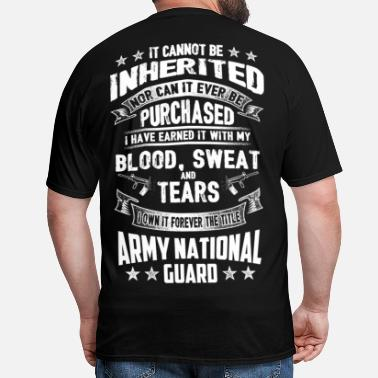 Army National Guard Mom USA army national guard - Men's T-Shirt