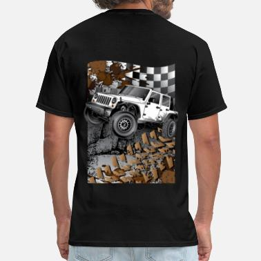 Xj Jeep Cherokee White Jeep Wrangler Extreme - Men's T-Shirt