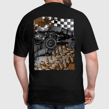 Jeep Wrangler Extreme Blk - Men's T-Shirt