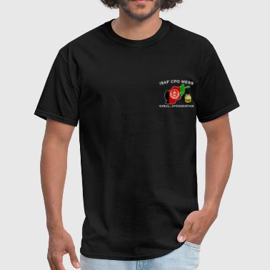 ISAF PSD CPO Mess T  - Men's T-Shirt