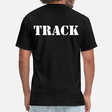 Track Cycling track - Men's T-Shirt