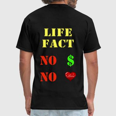Lifestyle Money love and money - Men's T-Shirt