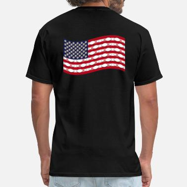 Bowling And Flag Bowling Flag - Men's T-Shirt