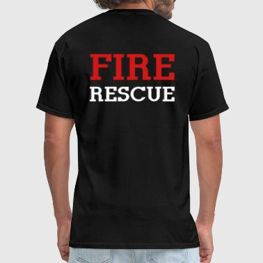 Fire Rescue - Men's T-Shirt