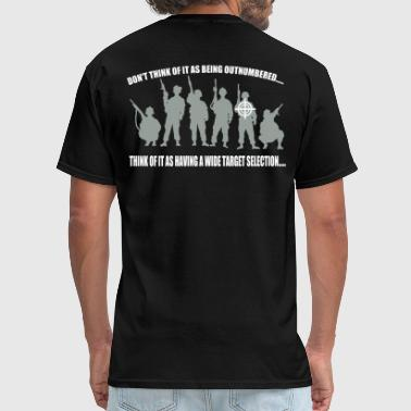 Afghanistan Military widetargetselection - Men's T-Shirt