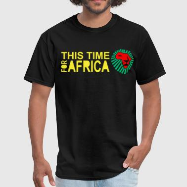 Lion Head Waka Waka This Time For Africa Lion head Africa - Men's T-Shirt