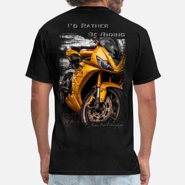 Daytona Beach Daytona Triumph T-Shirt I'd Rather Be Riding - Men's T-Shirt
