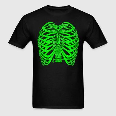 Swirly Torso - Men's T-Shirt
