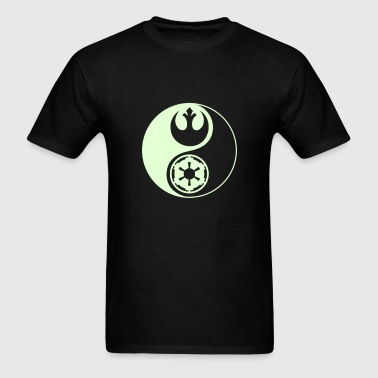 Star Wars Yin Yang 1-Color Light - Men's T-Shirt