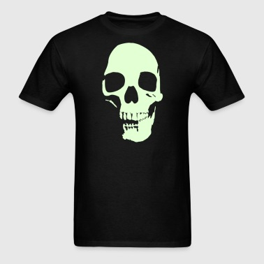 skull v2 1color Vector - Men's T-Shirt