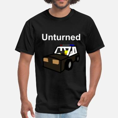 Unturned Unturned T-Shirt Old school police car  - Men's T-Shirt