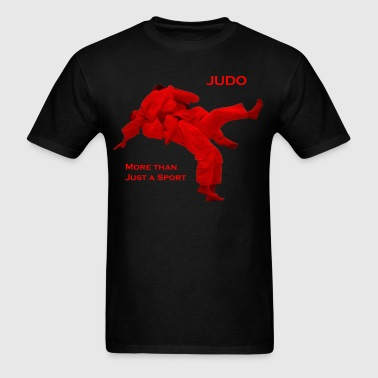 Judo - More than Just a Sport (Frontfacing) (Hoodi - Men's T-Shirt