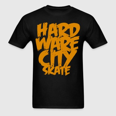 Hard Ware City Skate - Men's T-Shirt