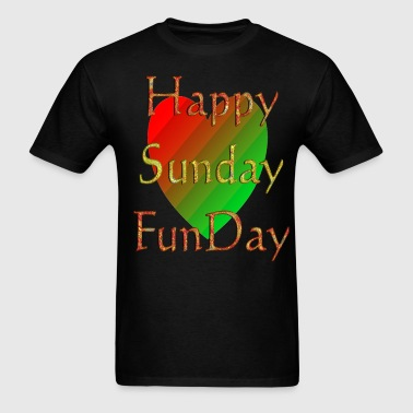 Happy Sunday Funday | Selfie Sunday - Men's T-Shirt