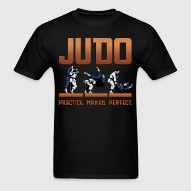Judo Practice Makes Perfect Design - Men's T-Shirt