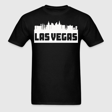 Las Vegas Nevada Skyline Silhouette - Men's T-Shirt