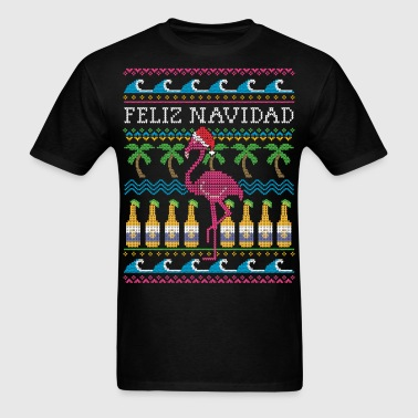 Feliz Navidad Ugly Christmas Sweater - Men's T-Shirt