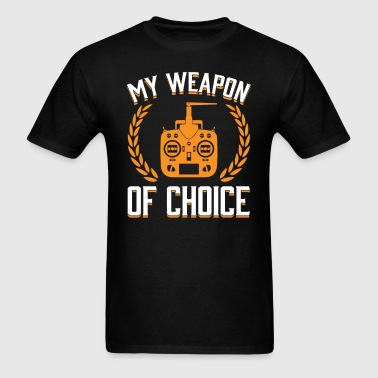 Rc Plane Weapon of Choice OK T-shirt - Men's T-Shirt