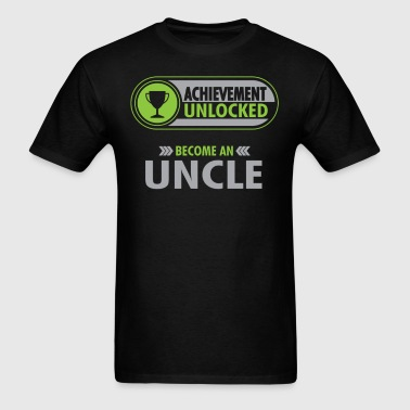 Uncle Achievement Unlocked T-Shirt - Men's T-Shirt
