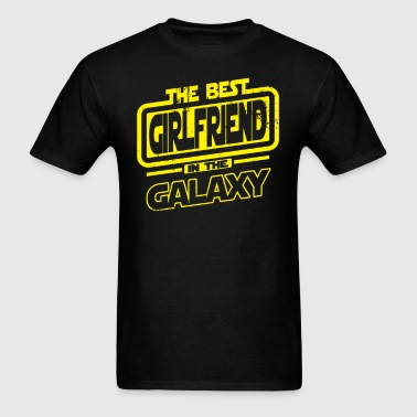 The Best Girlfriend In The Galaxy - Men's T-Shirt