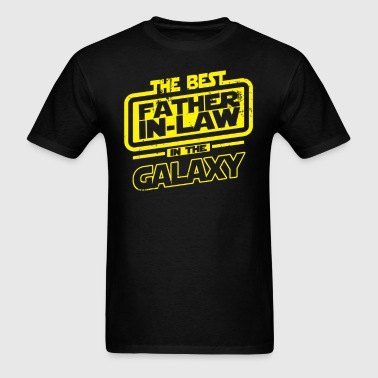 The Best Father In Law In The Galaxy - Men's T-Shirt