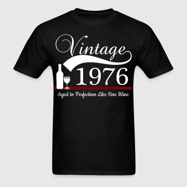 Aged to Perfection 1976 - Men's T-Shirt
