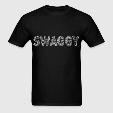 Swaggy White - Men's T-Shirt